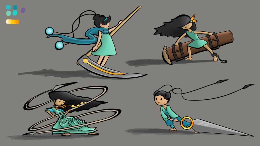 Oriana Character and Weapon Concept